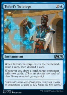Teferi's Tutelage(基本セット2021)