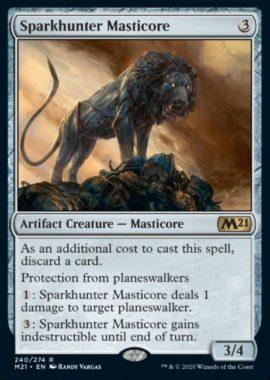 Sparkhunter Masticore(基本セット2021)