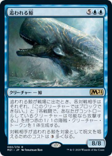 追われる鯨(基本セット2021)