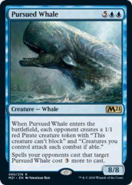 追われる鯨(Pursued Whale)英語版
