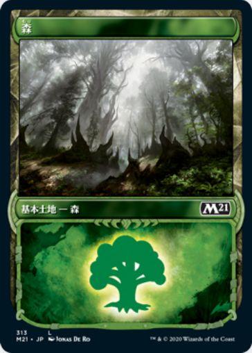 ガラク・ショーケース版の森(日本語版)基本セット2021