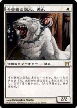 今田家の猟犬、勇丸(神河物語)