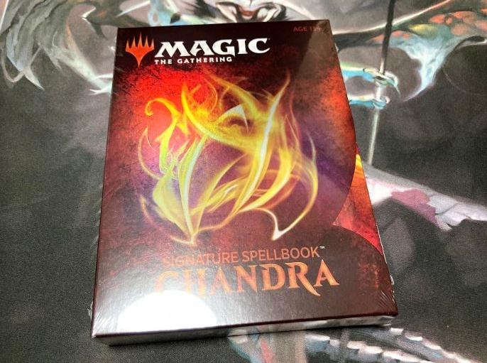 【レビュー】MTG「Signature Spellbook:Chandra」を開封レビュー!FOIL版カードは「あのカード」が当たりました!