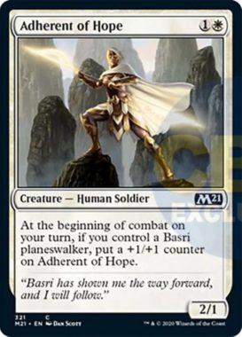 Adherent of Hope(基本セット2021 プレインズウォーカーデッキ)