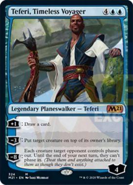 Teferi, Timeless Voyager(基本セット2021 プレインズウォーカーデッキ)