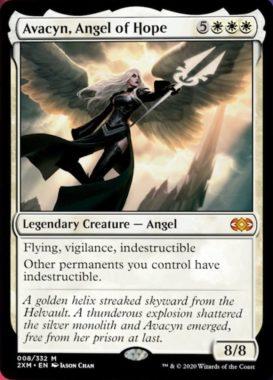 希望の天使アヴァシン(Avacyn, Angel of Hope)ダブルマスターズ