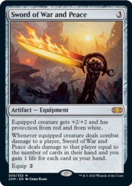 戦争と平和の剣(Sword of War and Peace)ダブルマスターズ