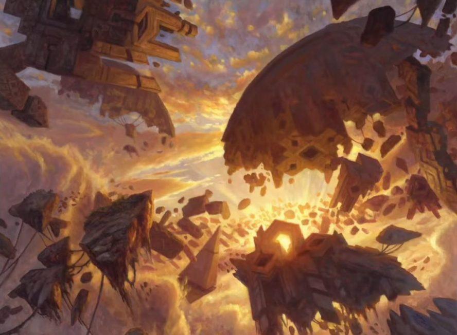アート:平地(ゼンディカーの夜明け)