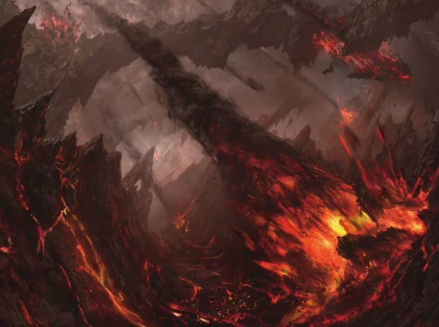 アート:山(ゼンディカーの夜明け)