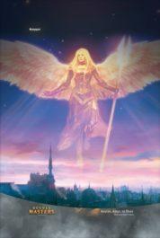 スマホ壁紙【アート】希望の天使アヴァシン(拡張アート版/ダブルマスターズ)