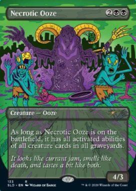 壊死のウーズ(Necrotic Ooze):Secret Lair「Prime Slime」収録