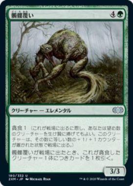 髑髏覆い(Skullmulcher)ダブルマスターズ・日本語版