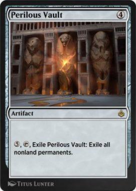危険な櫃(Perilous Vault)アモンケットリマスター