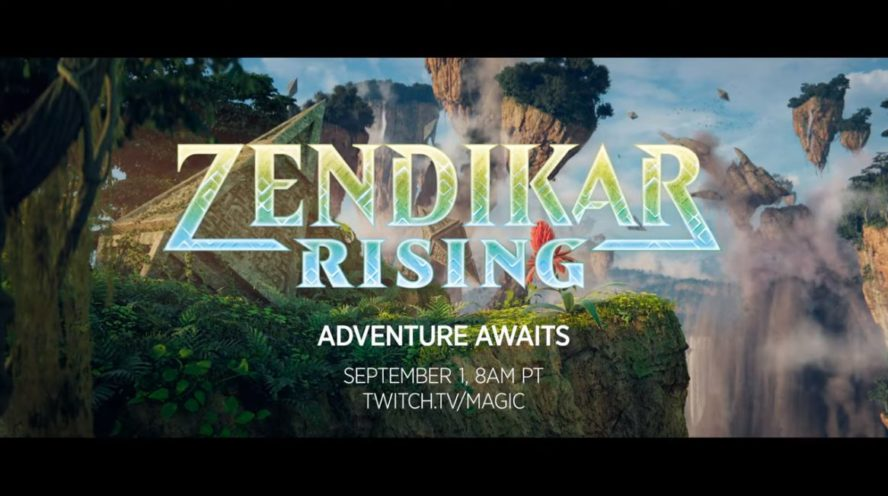 MTG公式より「ゼンディカーの夜明け」のプレビュー開始日が予告!2020年9月2日より情報公開!ティザーPVも公開!