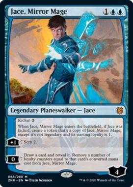 Jace, Mirror Mage(ゼンディカーの夜明け)