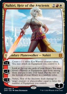 Nahiri, Heir of the Ancients(ゼンディカーの夜明け)