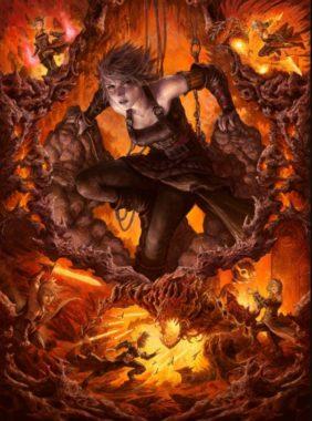 アート・ボーダーレス版:古代を継ぐ者、ナヒリ(Nahiri, Heir of the Ancients)ゼンディカーの夜明け