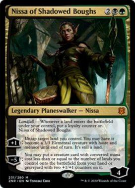 Nissa of Shadowed Boughs(ゼンディカーの夜明け)