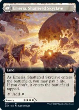 Emeria, Shattered Skyclave(ゼンディカーの夜明け)