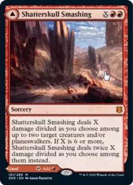 Shatterskull, the Hammer Pass(ゼンディカーの夜明け)