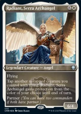 Radiant, Serra Archangel(統率者レジェンズ)