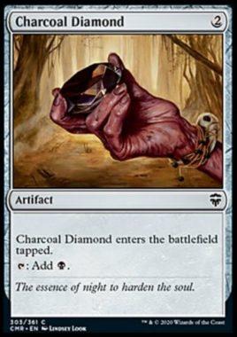 炭色のダイアモンド(Charcoal Diamond)統率者レジェンズ