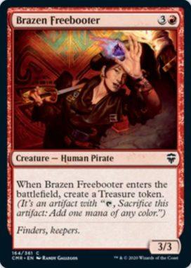 鉄面連合の掠め取り(Brazen Freebooter)統率者レジェンズ