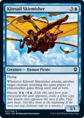 Kitesail Skirmisher(統率者レジェンズ)