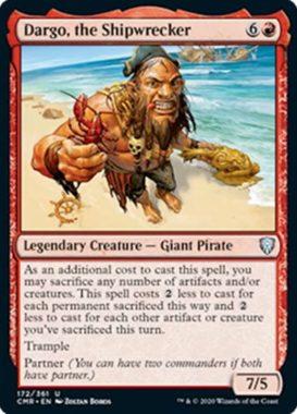 Dargo, the Shipwrecker(統率者レジェンズ)