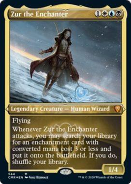 結界師ズアー(Zur the Enchanter)統率者レジェンズ