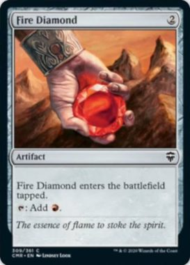 緋色のダイアモンド(Fire Diamond)統率者レジェンズ