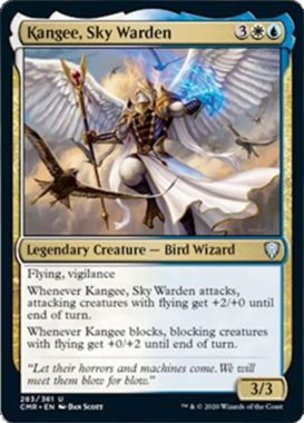 Kangee, Sky Warden(統率者レジェンズ)