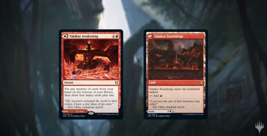 【両面土地】MTG「ゼンディカーの夜明け」にて土地としても使用できる両面カードが登場!