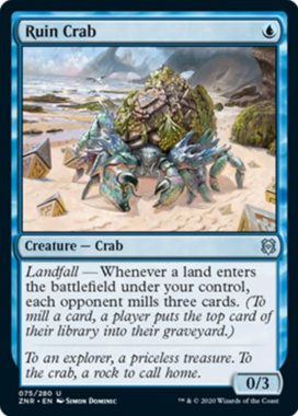 Ruin Crab(ゼンディカーの夜明け)