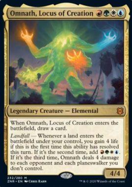 Omnath, Locus of Creation(ゼンディカーの夜明け)