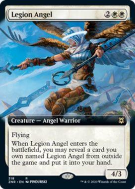 Legion Angel(ゼンディカーの夜明け)