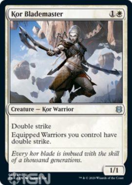 Kor Blademaster(ゼンディカーの夜明け)