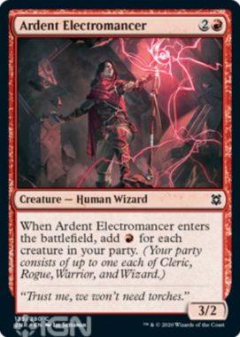 Ardent Electromancer(ゼンディカーの夜明け)