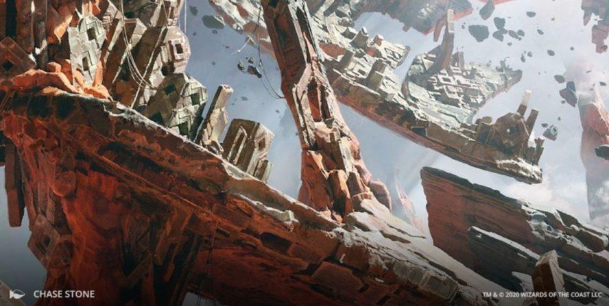 MTG「ゼンディカーの夜明け」ストーリー第1話:スカイクレイブの中心にて