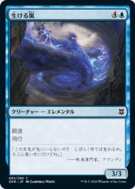 生ける嵐(Living Tempest)