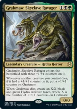 スカイクレイブの荒廃者、グラークマウ(Grakmaw, Skyclave Ravager)英語版