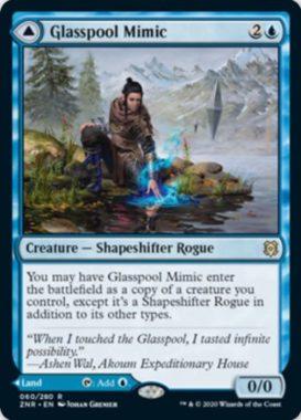 Glasspool Mimic(ゼンディカーの夜明け)
