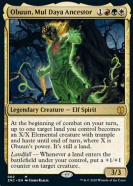 Obuun, Mul Daya Ancestor(ゼンディカーの夜明け)