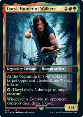 Daryl, Hunter of Walkers:Secret Lair「The Walking Dead」収録