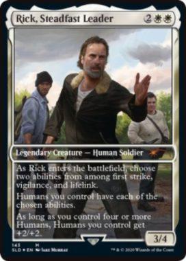 Rick, Steadfast Leader:Secret Lair「The Walking Dead」収録