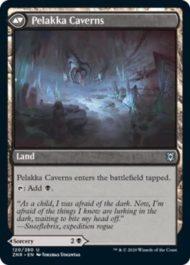 Pelakka Caverns(ゼンディカーの夜明け)