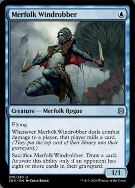 Merfolk Windrobber(ゼンディカーの夜明け)