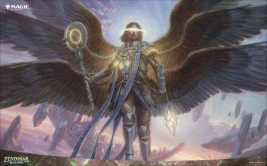 PC壁紙【アート】運命の天使(ゼンディカーの夜明け)