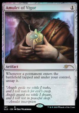 精力の護符(Amulet of Vigor):Secret Lair「Extra Life 2020」収録