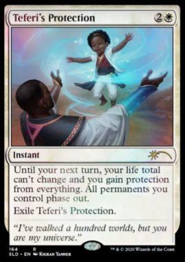 テフェリーの防御(Teferi's Protection):Secret Lair「Extra Life 2020」収録
